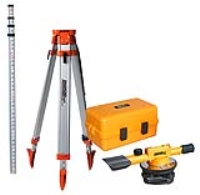 Where to rent BUILDERS LEVEL W TRIPOD   MEASURE STICK in Kokomo IN