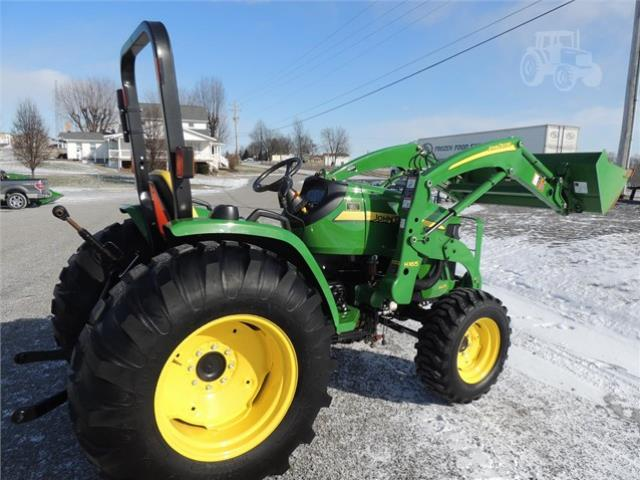 Where to find 4WD TRACTOR W FRONT BUCKET in Kokomo