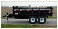 Where to rent 6 X12  DUMP TRAILER-2 5 16 BAL-8000LB CP in Kokomo IN