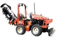 Where to rent TRENCHER-RIDING W BACKFILL BLADE-8 X4 D in Kokomo IN