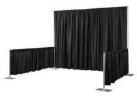 Where to rent SINGLE SIDED BOOTH PIPE-N-DRAPE KIT in Kokomo IN