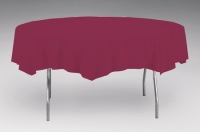 Where to rent .TABLECOVER, 82  OCTY-ROUND BURGUNDY in Kokomo IN