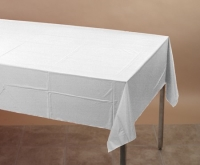 Where to rent .TABLECOVER, 54X108 WHITE in Kokomo IN