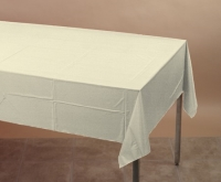 Where to rent .TABLECOVER, 54X108 IVORY in Kokomo IN