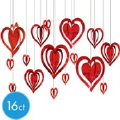 Where to rent .HEARTS, 3-D HANGING FOIL in Kokomo IN