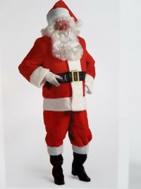 Where to rent .SANTA SUIT 6 PC. XXL in Kokomo IN